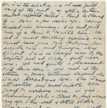 Image of 01_2009.31.50_alice Pratt Carter To Parents_november 29, 1918_page 02