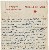 Image of 01_2009.31.50_alice Pratt Carter To Parents_november 29, 1918_page 03