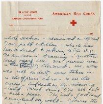 Image of 01_2009.31.50_alice Pratt Carter To Parents_november 29, 1918_page 09