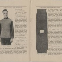 Image of Instructions for Knitting - Page 04-05
