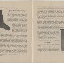 Image of Instructions for Knitting - Page 08-09