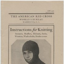 Image of Instructions for Knitting - Page 01