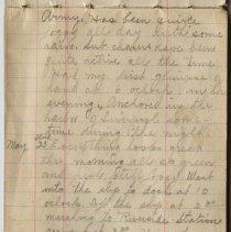 Image of Thomas Shook Diary- Page 011