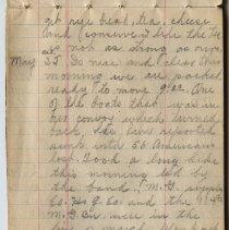 Image of Thomas Shook Diary- Page 014