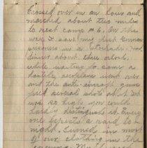 Image of Thomas Shook Diary- Page 017