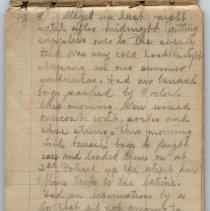 Image of Thomas Shook Diary- Page 002