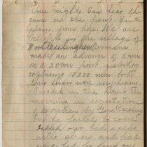 Image of Thomas Shook Diary- Page 020