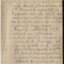 Image of Thomas Shook Diary- Page 022