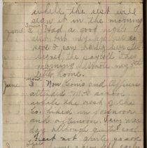 Image of Thomas Shook Diary- Page 023