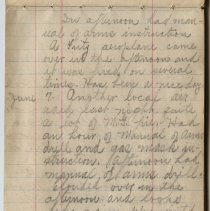 Image of Thomas Shook Diary- Page 025