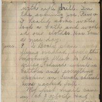 Image of Thomas Shook Diary- Page 026
