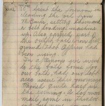 Image of Thomas Shook Diary- Page 027