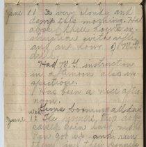 Image of Thomas Shook Diary- Page 028