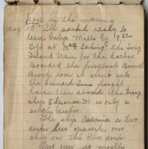 Image of Thomas Shook Diary- Page 003