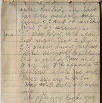 Image of Thomas Shook Diary- Page 033