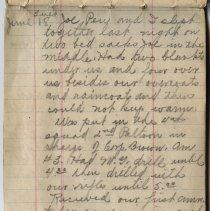 Image of Thomas Shook Diary- Page 034