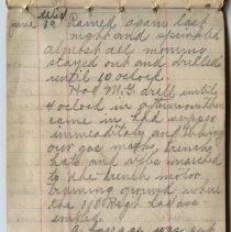 Image of Thomas Shook Diary- Page 035