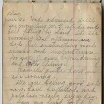 Image of Thomas Shook Diary- Page 036