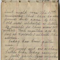 Image of Thomas Shook Diary- Page 037