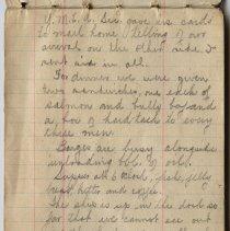Image of Thomas Shook Diary- Page 004