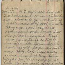 Image of Thomas Shook Diary- Page 042