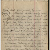Image of Thomas Shook Diary- Page 047