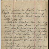 Image of Thomas Shook Diary- Page 048