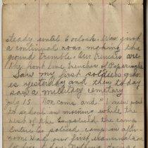 Image of Thomas Shook Diary- Page 055