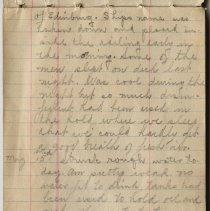Image of Thomas Shook Diary- Page 008