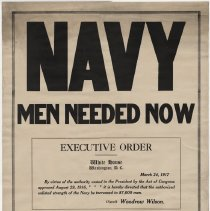 Image of U.S. Navy Enlistment Poster