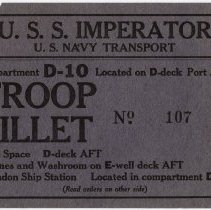 Image of Billet Card
