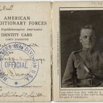 Image of Identity Card for Maj. Richard T. Smith