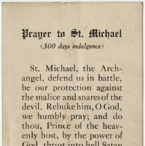 Image of Prayer to St. Michael