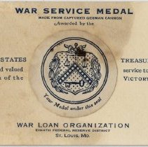 Image of War Service Medal
