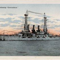 "Image of U.S. Battleship ""Connecticut"""