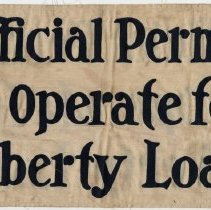 Image of Banner for U.S. Liberty Loan Campaigns