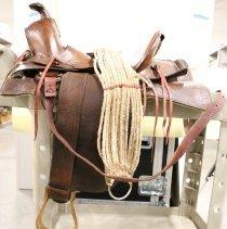 Image of 2014.52.0 - Saddle, Riding