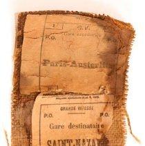 Image of 1940.2.20 - Label, Address