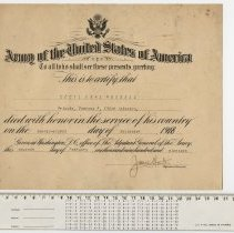 Image of Death Certificate