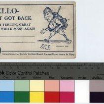 Image of 1994.40.110 - Postcard