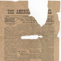 Image of 2012.47.6 - Newspaper