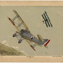 Image of French Spad VII Scout