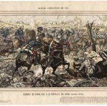 Image of Combat de Cavalerie a la Bataille du Nord