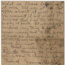 Image of 07_2005.162.12_james Bolla To Newton Balog_july 31, 1921_page 03