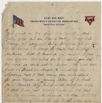 Image of 03_2005.162.12_newton Balog To Brother_july 4,1918_page 03