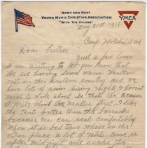 Image of 01_2005.162.12_newton Balog To Brother_may 31,1918_page 01