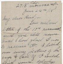 Image of 025_2015.162.4_pert Elmore To Reid Fields_june 26, 1918_page 01