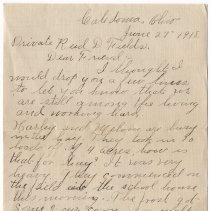 Image of 026_2015.162.4_mrs. Harley O. Foos  To Reid Fields_june 27, 1918_page 01