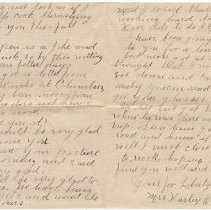 Image of 026_2015.162.4_mrs. Harley O. Foos  To Reid Fields_june 27, 1918_page 02-03