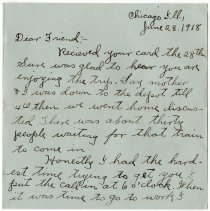 Image of 027_2015.162.4_clara Wrasse  To Reid Fields_june 28, 1918_page 01